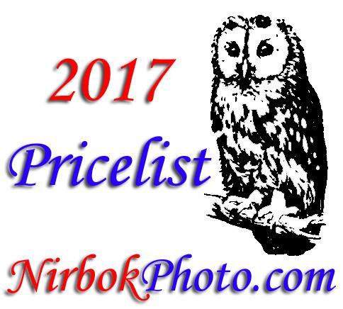 Pricelist 2017